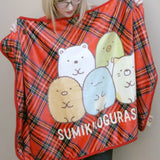 Sumikko Gurashi Plaid Blanket