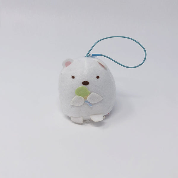 Shirokuma Plush Keychain - Pen Pen Ice Cream