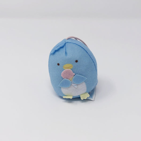 Real Penguin Plush Keychain - Pen Pen Ice Cream