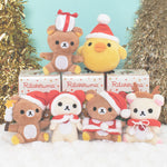 set of christmas blind box Rilakkuma Korilakkuma and Kiiroitori plush
