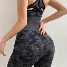 Load image into Gallery viewer, Camo Seamless Leggings High Waist