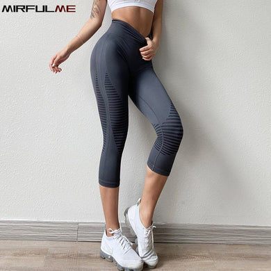 Cropped Yoga Pants