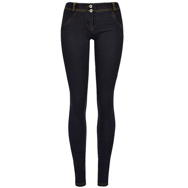 Stretchy Butt Lift Low Rise Skinny Jeans