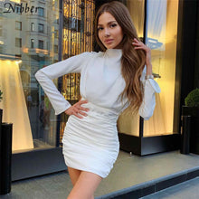 Load image into Gallery viewer, Long Sleeve Bodycon Mini Dress