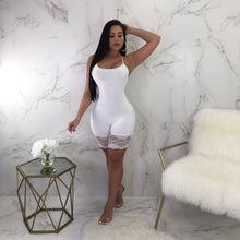 Load image into Gallery viewer, Spaghetti Strap Lace Embroidery Bodycon Jumpsuit