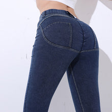 Load image into Gallery viewer, Denim Butt Design Leggings