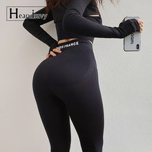 Load image into Gallery viewer, High Waist Seamless Gym Leggings
