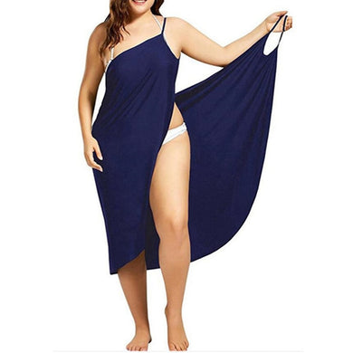 Sling Wrap Cover Up Beach Dress