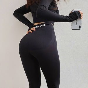 High Waist Seamless Gym Leggings
