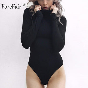 Turtleneck Long Sleeve Bodysuit