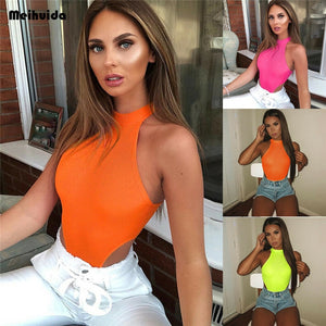Bodycon Sleeveless Bodysuit