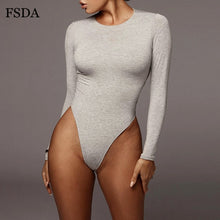 Load image into Gallery viewer, Long Sleeve Bodysuit
