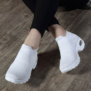 Air Running shoes Breathable Knitting Platform Sneakers