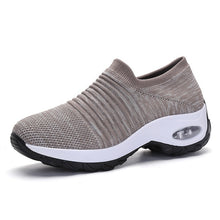 Load image into Gallery viewer, Air Running shoes Breathable Knitting Platform Sneakers