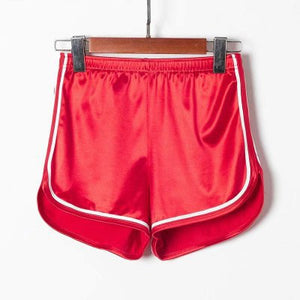 High Waist Elastic Short Shorts For Workout or Casual Wear
