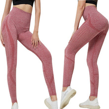 Load image into Gallery viewer, High Waist Seamless Fitness Yoga Pants