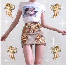 Load image into Gallery viewer, Print Mini skirt