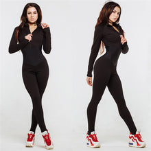 Load image into Gallery viewer, One-Piece Zipper Yoga Fitness Jumpsuit