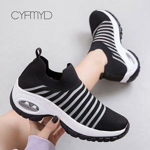 Women Breathable Air Running shoes
