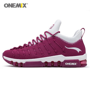 Athletic Trainers Wine Red Sports Sneakers
