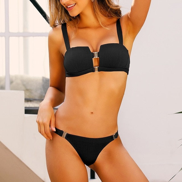 Two Piece Push Up Bikini