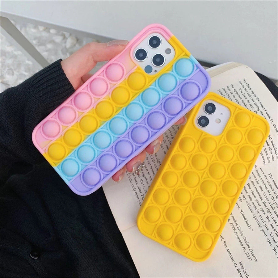 Rainbow Popit phone case