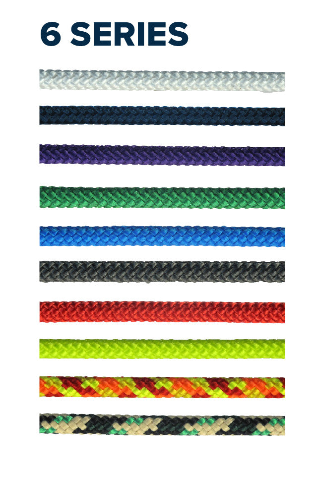 6 Series - (Polyester smooth braid)