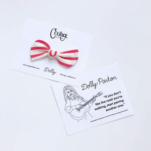 Courage Collection - Frida Bow Clips