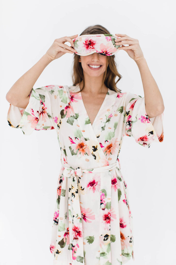 Watercolor Dreams Bridesmaid Robe