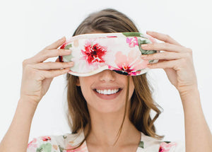 Watercolor Dreams Sleep Mask
