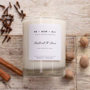 Re+New+All Candles - Chestnut and Clove