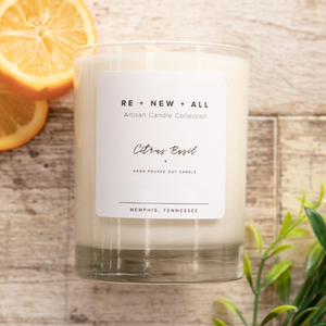 Re+New+All Candles - Citrus Basil