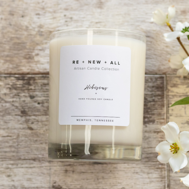 Re+New+All Candles - Hibiscus