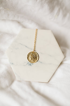 Lexi Coin Necklace