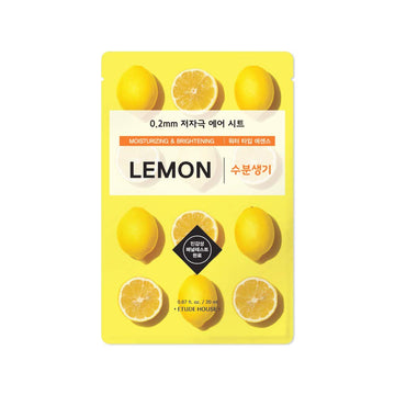 ETUDE HOUSE 0.2mm Therapy Air Sheet Mask -Lemon