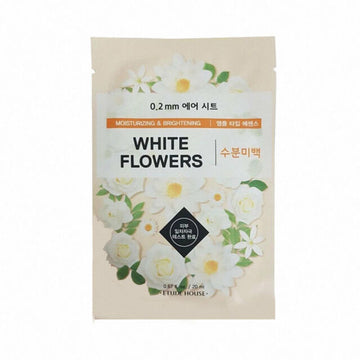 ETUDE HOUSE 0.2mm Therapy Air Sheet Mask -White Flowers