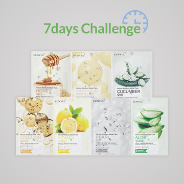 [7 Day Challenge] EUNYUL Mask Pack 7pcs