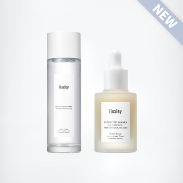 [Antioxidant Duo] HUXLEY Oil Essence & Toner