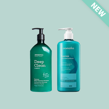 AROMATICA Cypress Hair Care Duo