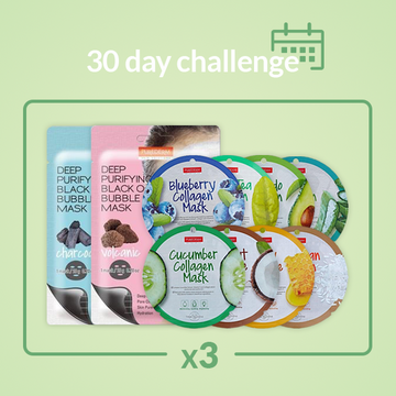 [30 Day Challenge] PUREDERM Mask sheet 30pcs