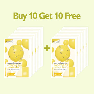 [BUY 10 GET 10 FREE] EUNYUL Natural Moisture Mask Pack Coenzyme Q10