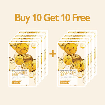 [BUY 10 GET 10 FREE] EUNYUL Natural Moisture Mask Pack Collagen