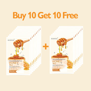 [BUY 10 GET 10 FREE] EUNYUL Natural Moisture Mask Pack Honey