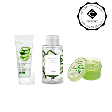 ALOE CARE Set (Foam + Toner + Gel)