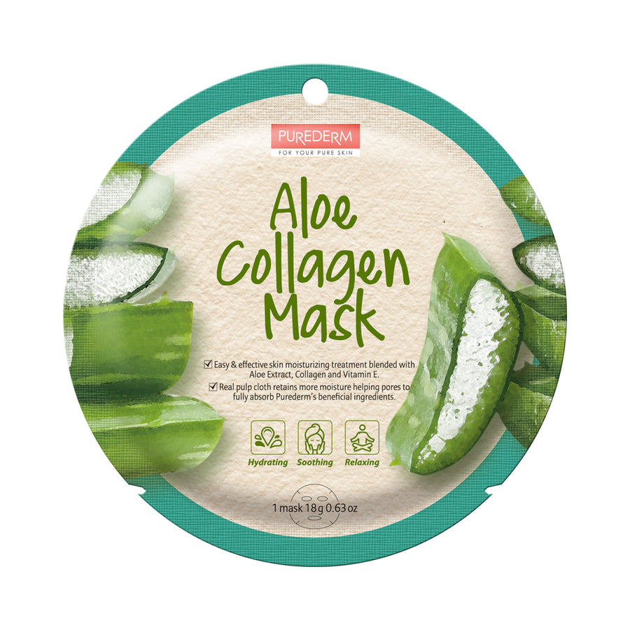 COLLAGEN ALOE CIRCLE MASK