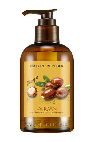 NATURE REPUBLIC Argan Essential Deep Care Hair Shampoo