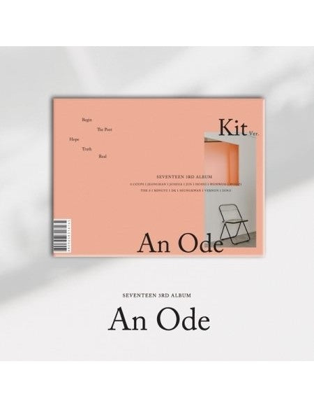 [SEVENTEEN] An Ode (3rd Album) (Kit Album)