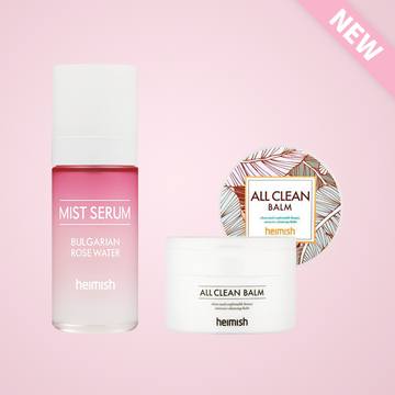 [Best Seller Duo] All Clean balm + Bulgarian Rose Mist Serum