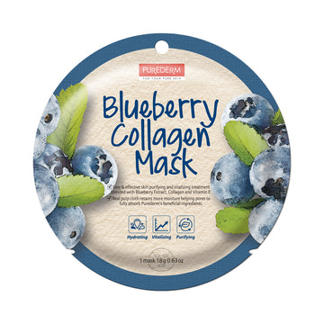 COLLAGEN BLUEBERRY CIRCLE MASK