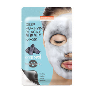 BUBBLE BLACK MASK (CHARCOAL)